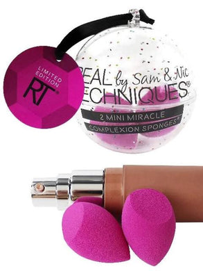 Real Techniques 2 Mini Miracle Complexion Sponges - mystic-beauty-international-make-up-store
