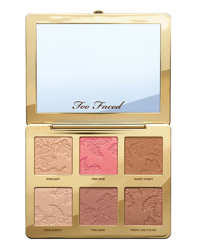 Too Faced Natural Face - Highlight, Blush & Bronzing Veil Face Palette - mystic-beauty-international-make-up-store