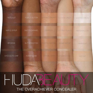 Huda Beauty Overachiever Concealer Swatch - Mystic Beauty SA online makeup store