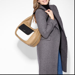 FIORELLI TUFNELL HOBO BAG TOFFEE MIX