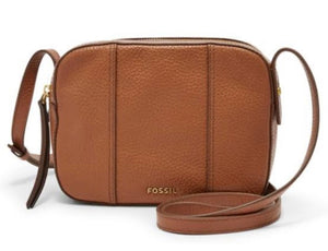 Fossil Jenna Camera Bag - Brown