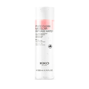 Kiko Milano Pure Clean Micellar Biphase Water 200ml - mystic-beauty-international-make-up-store
