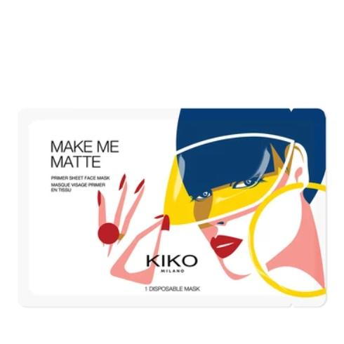Kiko Milano Make Me Matte Primer Sheet Face Mask - mystic-beauty-international-make-up-store