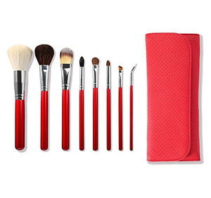 Morphe 700 - 8 Piece Makeup Brush Set - Candy Red - mystic-beauty-international-make-up-store