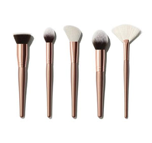 Morphe 5 Piece Face Brush Set - Complexion Goals - mystic-beauty-international-make-up-store