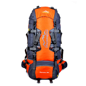 80L Large Outdoor Climbing backpack Camping Travel Bag