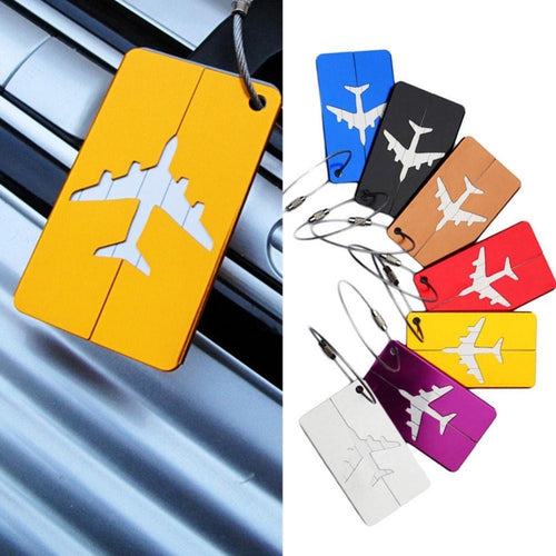 Aluminium Alloy Luggage Tags Baggage Name Tags