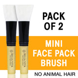 Mini Face Pack Brush for Women & Men - Pack of 2