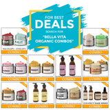 Bella Vita Organic Orange Moisturizing Facial Kit for Oily to Normal Skin