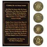 Bella Vita Organic Coins Of Attraction, Manifest Tokens Charged With Energy