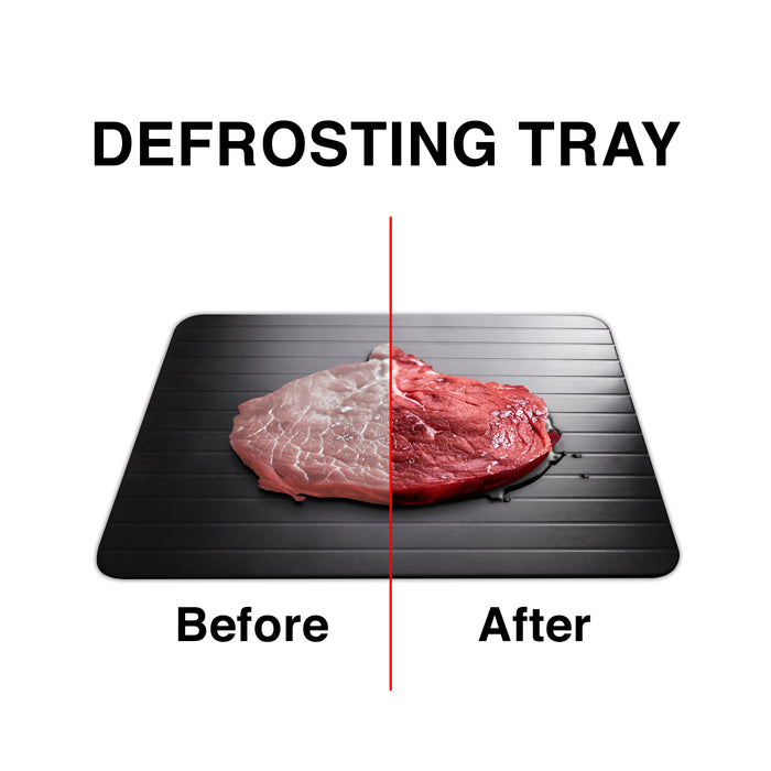 Fast Defrosting Tray with Cleaner Frozen Meat Defrost Food Thawing Plate Board Kitchen Tool - TheGood_Market
