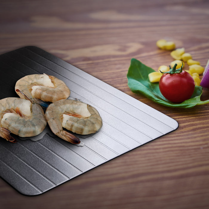 Defrosting Tray Thaw Rapid Heating Tray Fast for Freezing Meat Food. No Electricity & Non-stick Kitchen Tool - TheGood_Market