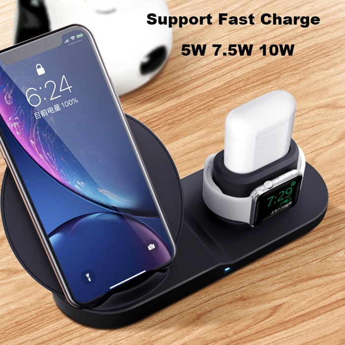 3 In 1 Fast Wireless Charger - TheGood_Market