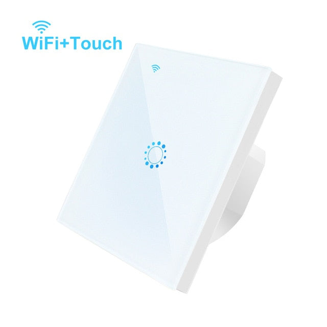 WiFi Smart Light Switch Glass Panel Compatible with Alexa/Google - TheGood_Market