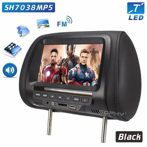 Universal 7 inch Car Headrest Monitor - TheGood_Market