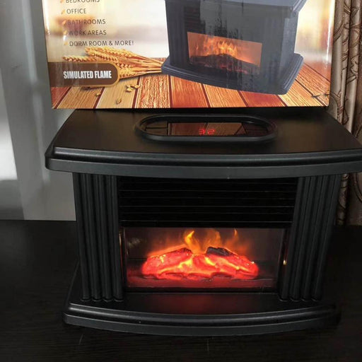 1000W Mini Electric Fireplace Tabletop Portable Living Room Warm Winter Heater - TheGood_Market