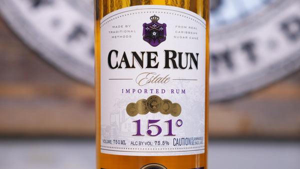 can run aged rum 151 proof ethanol