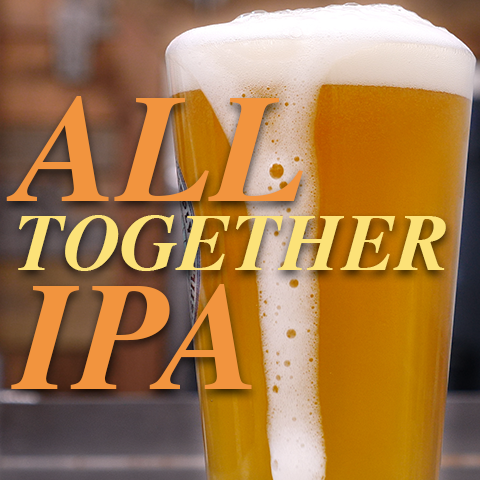 all together IPA homebrew recipe for Clawhammer brewing system