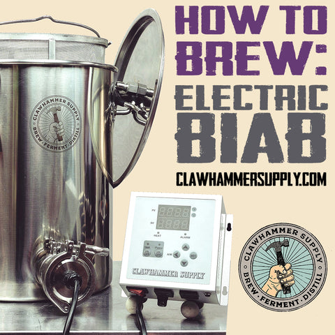 How to brew beer using a BIAB system