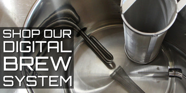 digital brew in a bag electric homebrewing system
