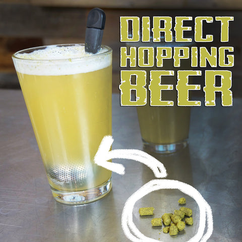 Direct hopping beer