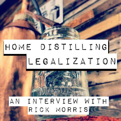 Legalize Home Distilling