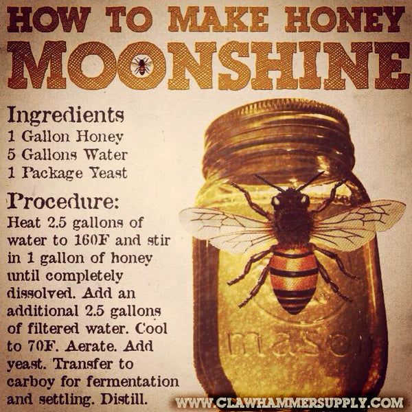 Honey Moonshine Whiskey