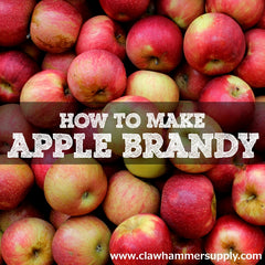 How To Make Apple Brandy Clawhammer Supply