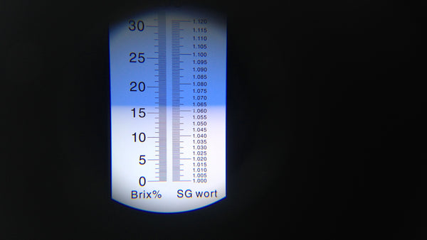 Brix refractometer results