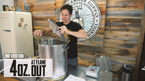adding flameout hops
