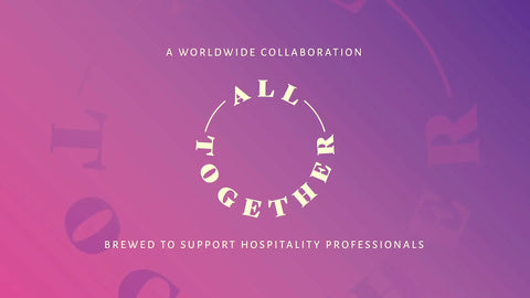 All together beer collaboration logo