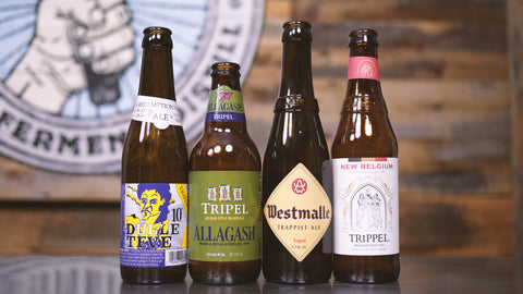 tripel tasting - old world vs. new wold