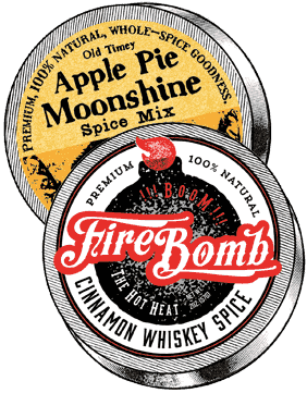 Apple Pie & FireBomb Spice Combo