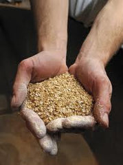 crushed malted barley