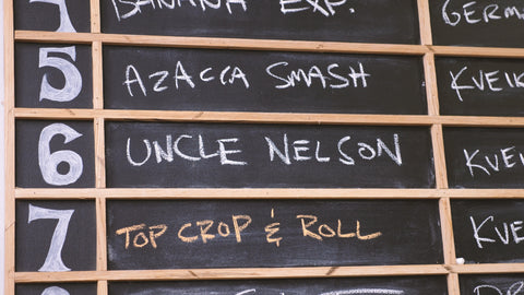 uncle nelson on our tap board