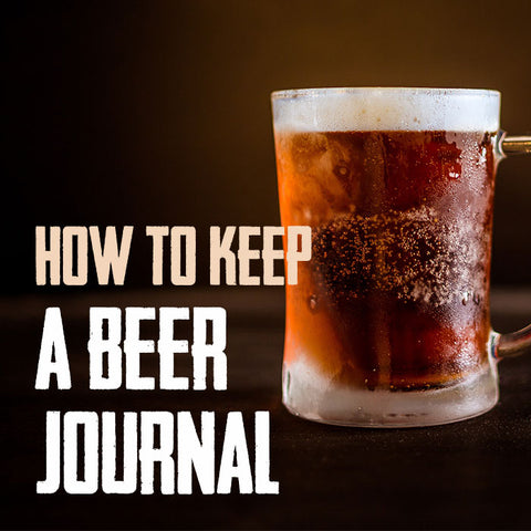 How to keep a beer journal