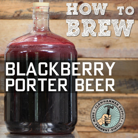 blackberry beer homebrew recipe