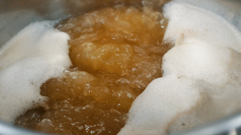 boiling wort