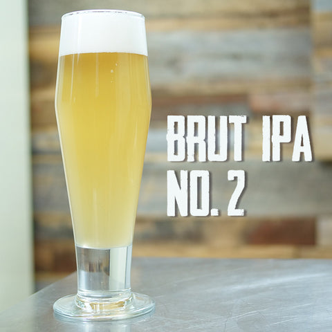 Brut IPA with Ultra-Ferm