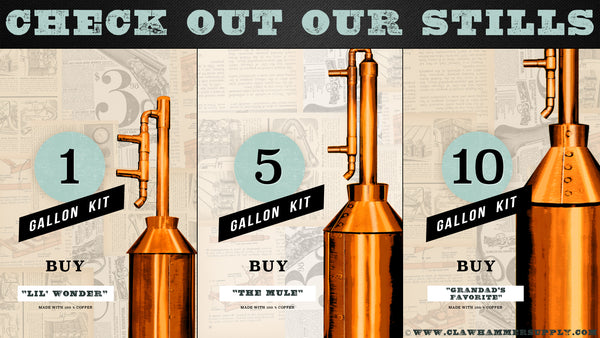 Check out our copper stills