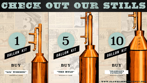 copper moonshine still kits