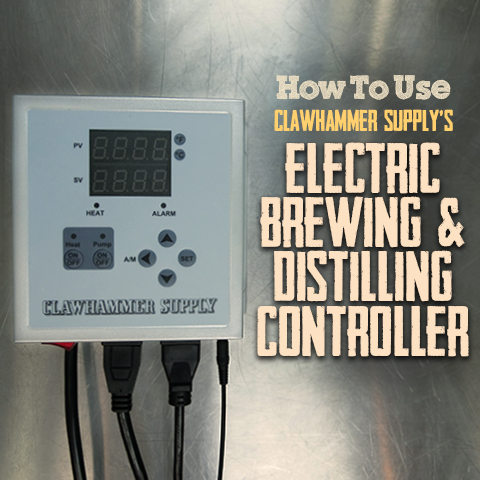 how to use clawhammer supply's electric brewing and