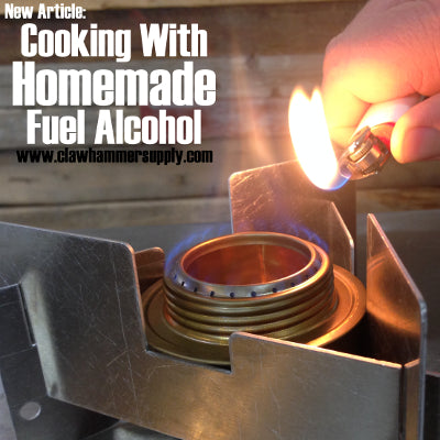Cooking With Fuel Alcohol