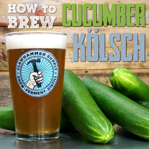 Brewing Beer: Cucumber Kolsch Beer Recipe