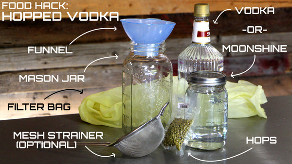 How To Make Hopped Vodka – Clawhammer Supply
