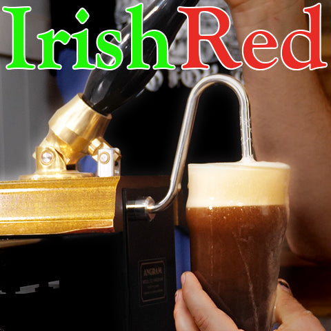 Irish Red Ale Served on a Beer Engine | Homebrew Recipe
