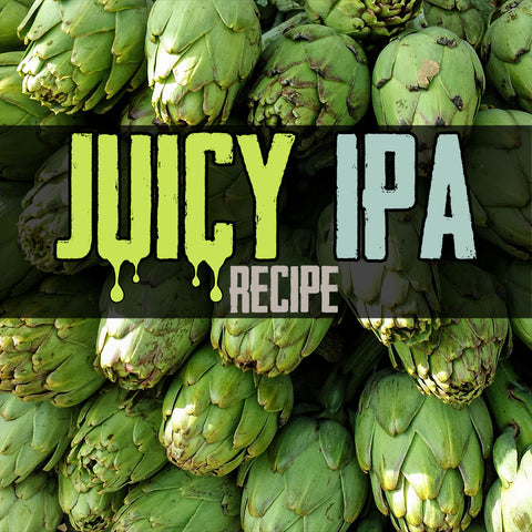 All grain, juicy IPA homebrew recipe