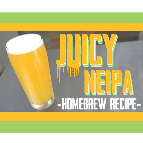 juicy NEIPA Homebrew Recipe