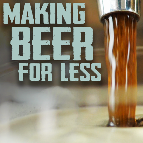 how to make homebrew for less money