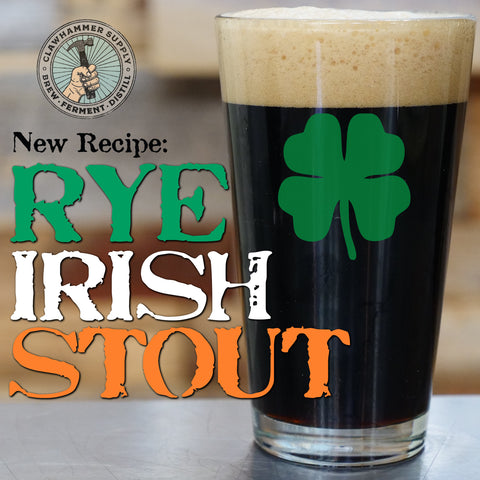 rye irish stout homebrew recipe